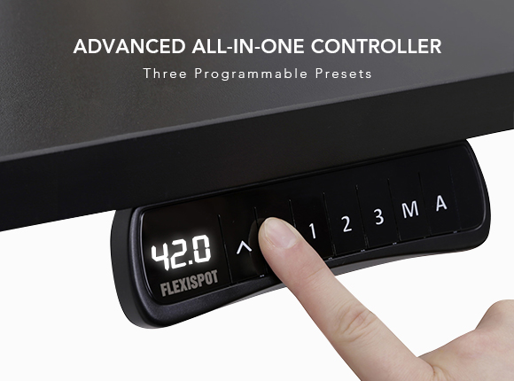 3 programmable presets